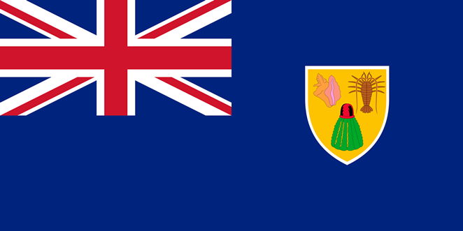 Turks and Caicos flag