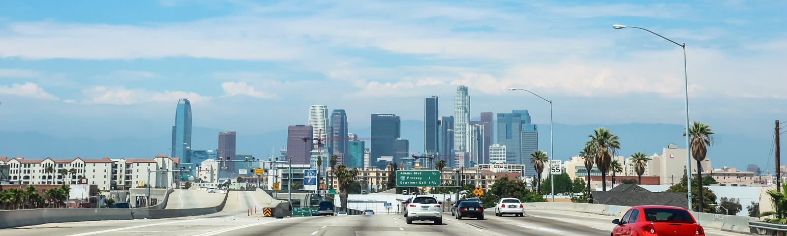 Car Hire In Los Angeles With Sat Nav