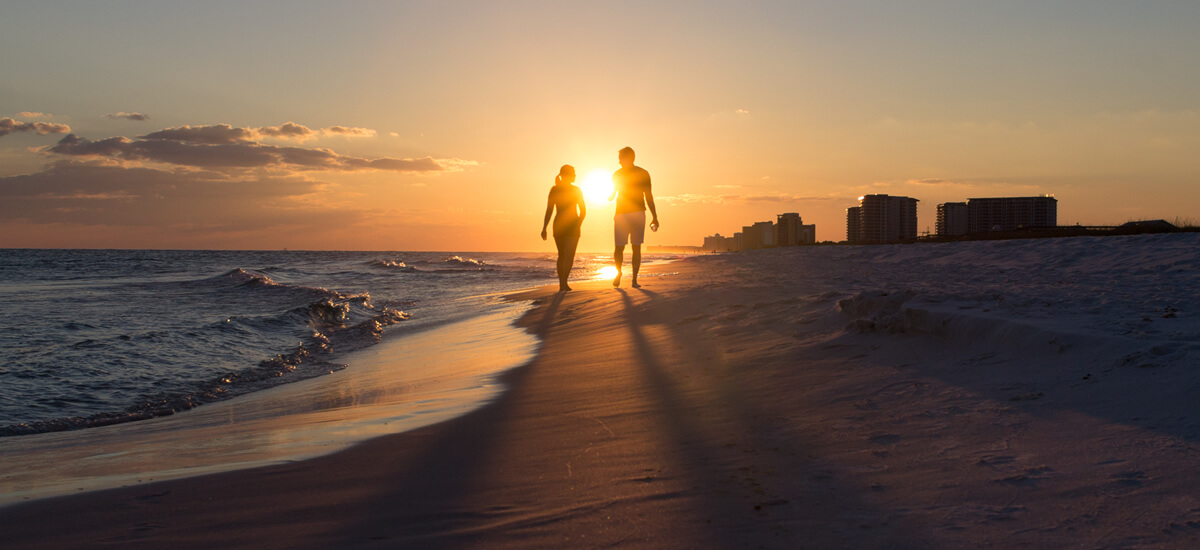 Ten most romantic places in Florida