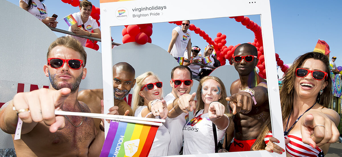 Virgin Holidays at Brighton Pride 2017